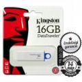 16GB KINGSTON DTI G4 USB 3.0 Pendrive kék színben