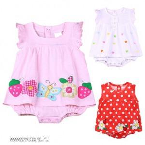 1 db Bébi lány ruha rövid ujjú bébi csíkos ruha party nyári gyerek divat  ruhák lányoknak d8bbc148f0
