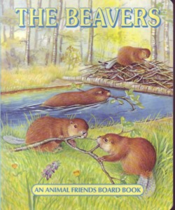: The Beavers - An animal friends board book