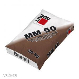 Habarcs Baumit MM 50, szürke, beltéri / kültéri, 30kg