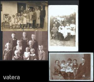 Sokgyerekes családok fotója a régi magyarországból (3-6-8-12) - 500 Ft - (meghosszabbítva: 2912875730) Kép