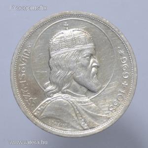 1938  Szent István  ezüst  5 Pengő  XF  -PF698