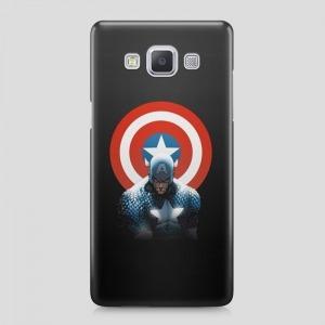 Amerika Kapitány mintás Samsung Galaxy A3 (2015...