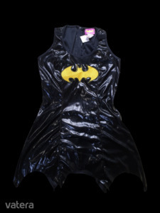 Női S-es bőr hatású Batman jelmez, palásttal - ÚJ