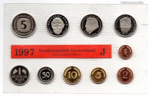 Németország Forgalmi sor 1997 J