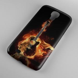gitár mintás gitáros Samsung Galaxy S5 tok