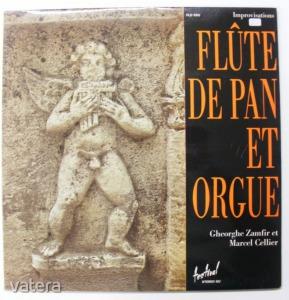 Gheorghe Zamfir - Marcel Collier: Flúte de Pan et Orgue LP (VG+/VG+) FR - 1500 Ft Kép