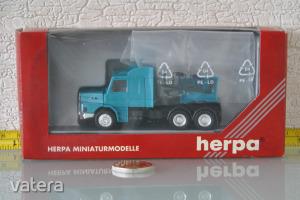 H0 1:87 Herpa no. 141451 Scania kamion - Vasútmodell terepasztal kiegészítő