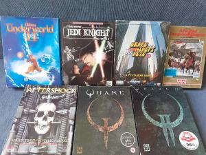 Unreal 1. ,  GTA 1. , Duke Nukem , Dark Force 2. , Secret Of The Silver Blades    DOBOZOS PC játékok