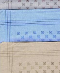 Filago Oliver 6 színes mozaikmintás férfi textilzsebkendő 3db Kép