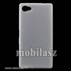 Szilikon tok, Sony Xperia Z5 Compact (E5823), Fehér
