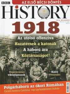 BBC History 2018. november - 1918