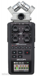 Zoom - H6 Black kézi hangrögzítő