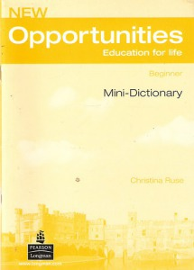 Opportunítíes Beginner - Mini-Dictionary