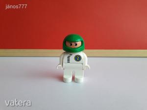 Eredeti LEGO Duplo versenyautó sofőr pilóta figura !!