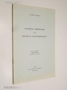 Florio Banfi: Paternita Berniniana del Duomo Di Castelgandolfo (*91)