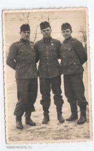 Magyar katonák, orosz front, 1944