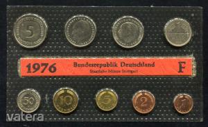 1976 F  Németország  nylon tokos  forgalmi sor  BG19