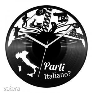 Olasz nyelvtanár bakelit óra
