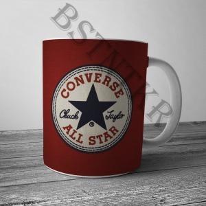Converse mintás bögre