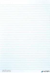 Rovatolt papír, A3, vonalas, VICTORIA