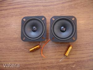 CT-106FS zárt kosaras Magas sugárzó hangszóró pár 8ohm 7cm hangváltó kondenzátorral