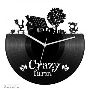 Őrült farm bakelit óra