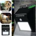 Solar Motion mozgásérzékelős, napelemes 20 ledes lámpa