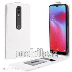 Vodafone Smart V10, Flip mobiltok, lefelé nyíló, Fehér