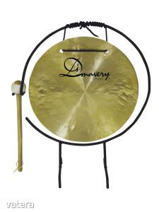 DIMAVERY - Gong 25cm állvánnyal és ütővel