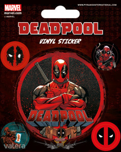 DEADPOOL (STICK THIS) STICKERS. matrica szett