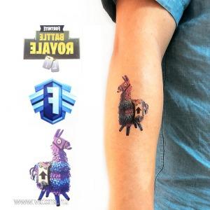 Fortnite lemosható tetoválás - Battle Royal - KÉSZLETRŐL!