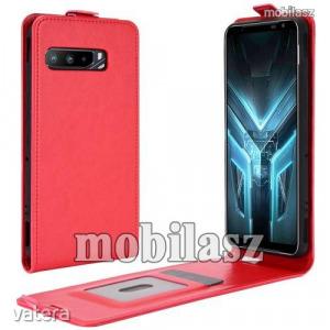 ASUS ROG Phone 3 (ZS661KS), ROG Phone 3 Strix, Flip mobiltok, lefelé nyíló, Piros
