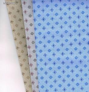 Filago Oliver 4 színes kárómintás férfi textilzsebkendő 3db Kép