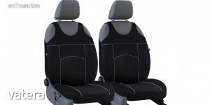 Univerzális trikó üléshuzat pár Tuning 100% velúr fekete színben