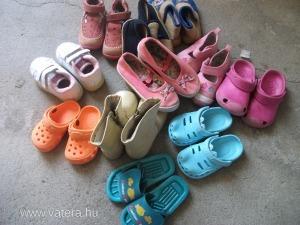 Használt gyerekcipők, papucsok, tutyik
