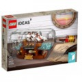 LEGO Ideas - Hajó a palackban (21313)