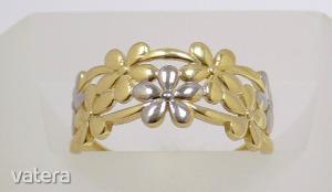 Modern arany gyűrű (ZAL-Au 86982)