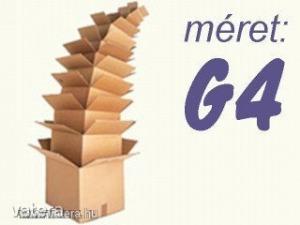 Kartondoboz ( Új! ), G4 méret, 26x30x21 cm