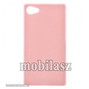 Szilikon tok, Sony Xperia Z5 Compact (E5823), Rózsaszín