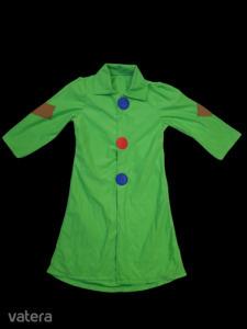 Zöld bohóc jelmezruha, gyerek méret