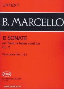 12 Sonate per flauto e basso continuo Op. 2 - Parte prima (No. 1-6.)