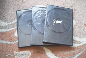 DVD tok, tokok, több normál fekete db