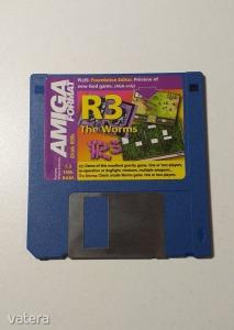 AMIGA Játék R3 + The Worms - DEMO - G