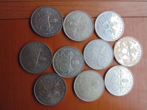 ezüst 200 forint 10 db
