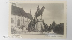 Kolozsvár, Mátyás király szobra / Erdély, Kolozs megye (*45)