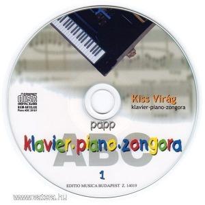 Papp Lajos: Zongora ABC 1. (CD lemez)