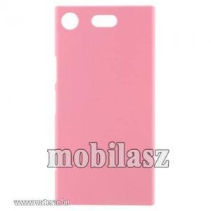Műanyag védő tok,Sony Xperia XZ1 Compact,Rózsaszín