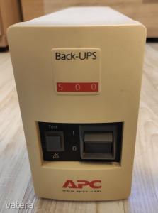 BACK-UPS 500VA MI SZÜNETMENTES TÁPEGYSÉG ÚJ AKKSI