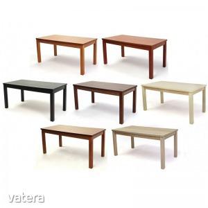 Berta asztal nagy - Bővíthető asztal, 80×160+40cm, több színben
